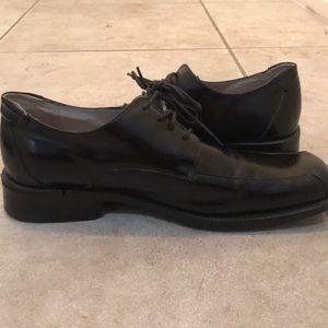 Stacy Adams mens size 13 black dress shoes